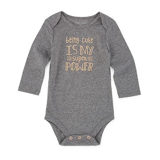 Okie Dokie Super Power Unisex Bodysuit-Baby
