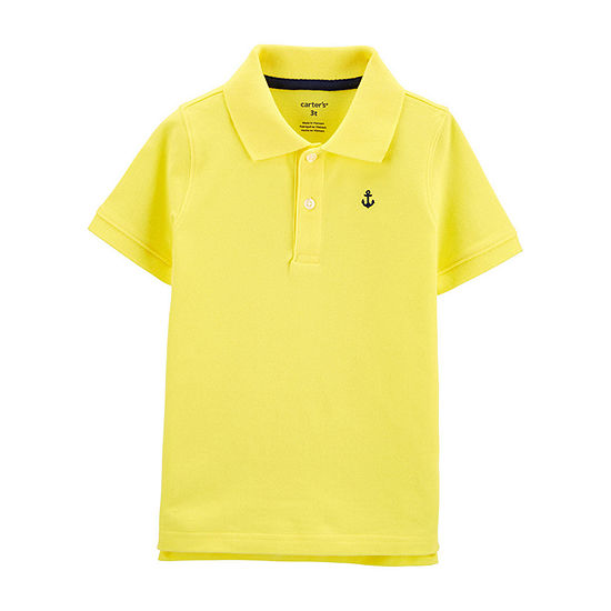 Carter's Toddler Boys Short Sleeve Polo Shirt