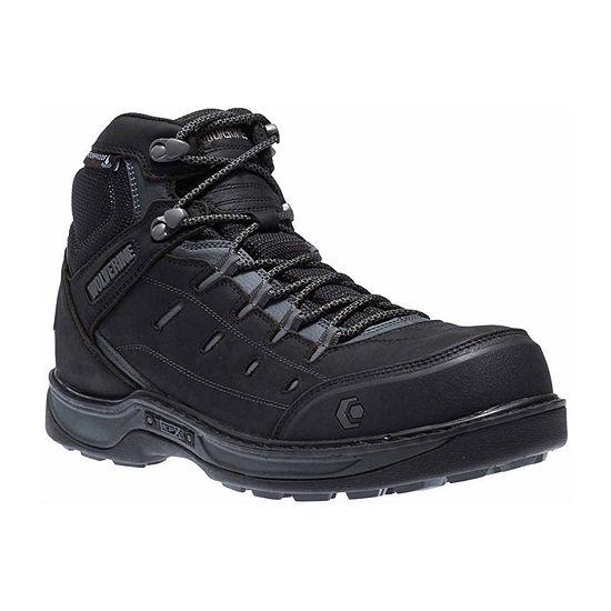 Wolverine Mens Edge Lx Waterproof Slip Resistant Work Boots