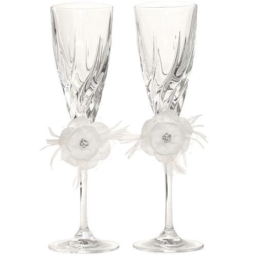 Ivy Lane Design™ Somerset Set of 2 Champagne Flutes