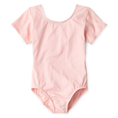 Jacques Moret Short-Sleeve Leotard - Girls 4-14