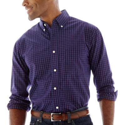Haggar® Long-Sleeve Poplin Shirt