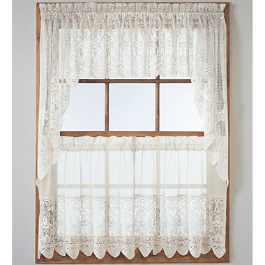 Jcpenney Lace Kitchen Curtains Curtain Menzilperde Net