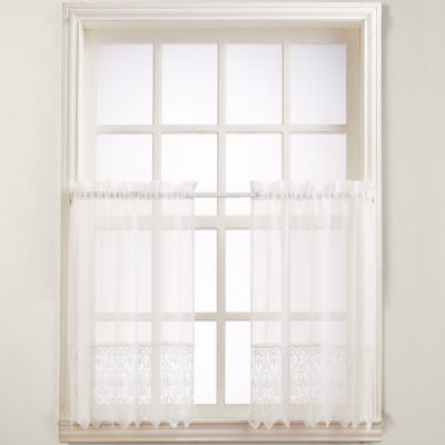 Joy Rod-Pocket 2-Pack Window Tiers