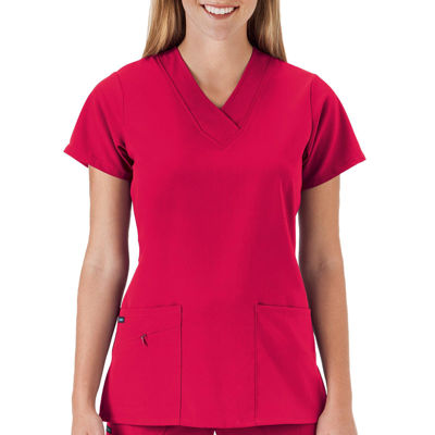 Jockey® 2206 Short-Sleeve V-Neck Top
