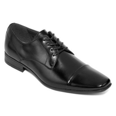 JF J. Ferrar® Baptiste Mens Cap-Toe Oxford Dress Shoes
