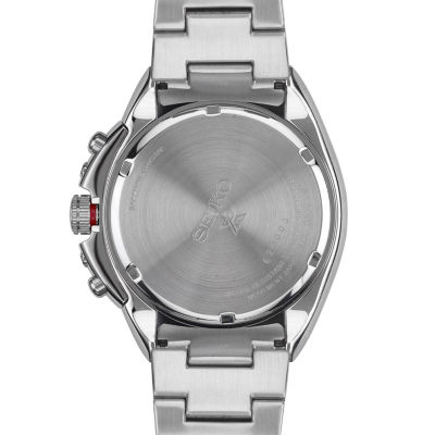 Seiko Mens Silver Tone Bracelet Watch-Ssc487