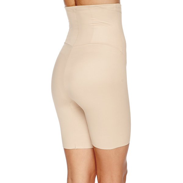 Naomi And Nicole Hi-Waist Wonderful Edge® Firm Control Thigh Slimmers - 7239