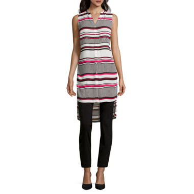 jcpenney.com | Worthington® Sleeveless Long Tunic or Slim-Fit Ankle Pants