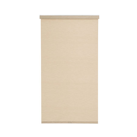 JCPenney Home Light Filtering Textured Cordless Roller Shade, One Size , Beige
