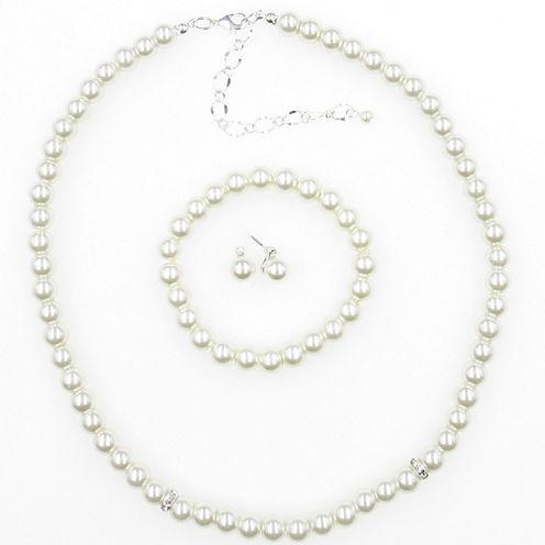 Womens 3-pc. Brass Jewelry Set