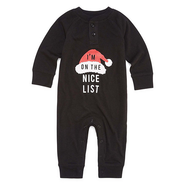 North Pole Trading Co. Nice List Pajama-Baby