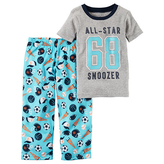 Carters 2 Pc Pajama Set Boys