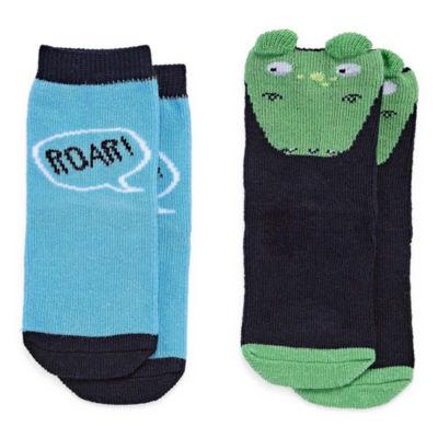 Okie Dokie 2 Pair Baby Socks-Baby