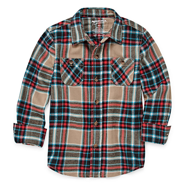 Arizona Long Sleeve Flannel- Boys 4-7