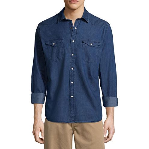 Arizona Long Sleeve Snap-Front Shirt