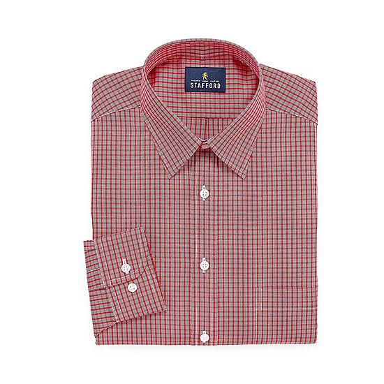 Stafford® Short-Sleeve Oxford Dress Shirt - Big & Tall