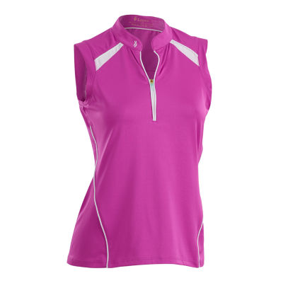 Nancy Lopez Golf Sporty Sleeveless Polo