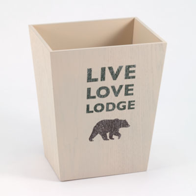 Avanti Cabin Words Waste Basket