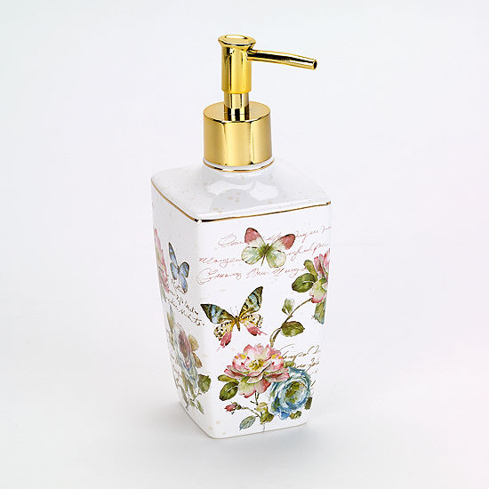Avanti Butterfly Garden Soap Dispenser