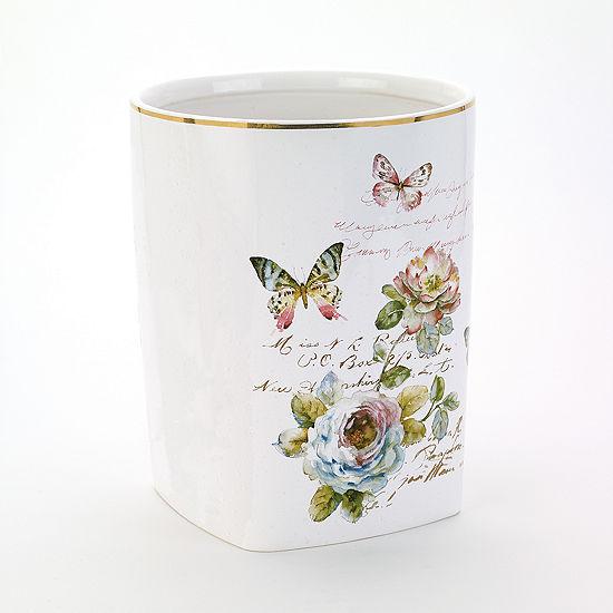 Avanti Butterfly Garden Waste Basket