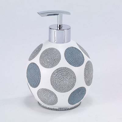 Avanti Dotted Circle Soap Dispenser