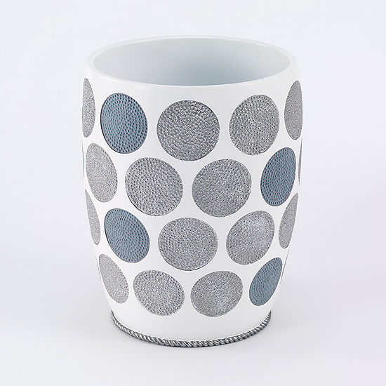 Avanti Dotted Circle Waste Basket
