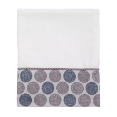 Avanti Dotted Circle Circles Bath Towel
