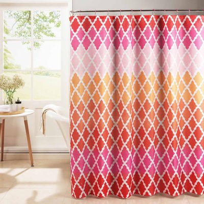 Gateway Lattice Diamond Weave 13-pc. Shower Curtain Set