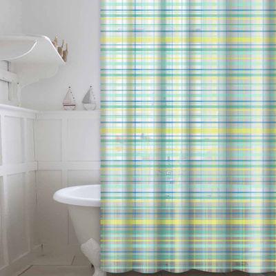 Peva Plaid 13-pc. Shower Curtain Set