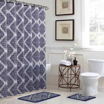 Camille 15-pc. Shower Curtain Set