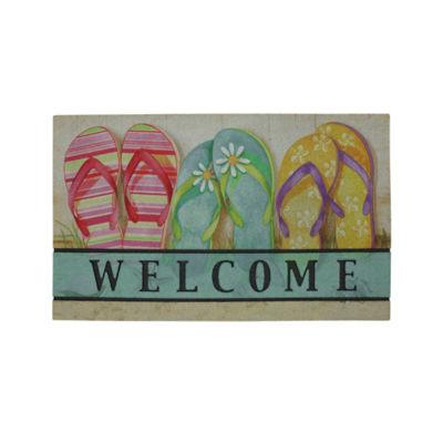 Mohawk Home® Flip Flop Rectangular Doormat