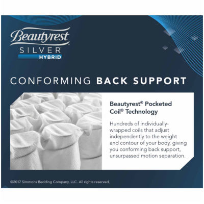 Simmons Beautyrest Silver® Perdido Key Plush - Mattress + Box Springs