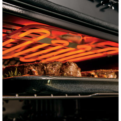"GE Cafe´™ Series 30"" Built-In Double Convection Electric Wall Oven"