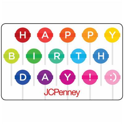 $200 Birthday Lollipop Gift Card
