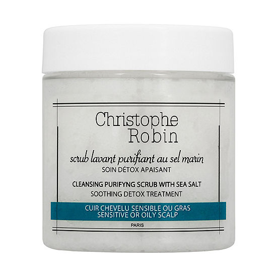 Christophe Robin Cleansing Purifying Scrub with Sea Salt
