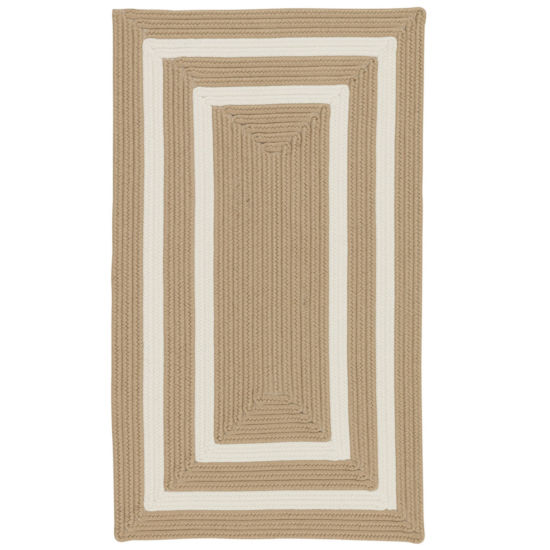 Colonial Mills Monica Double Border Braided Rectangular Reversible Rugs