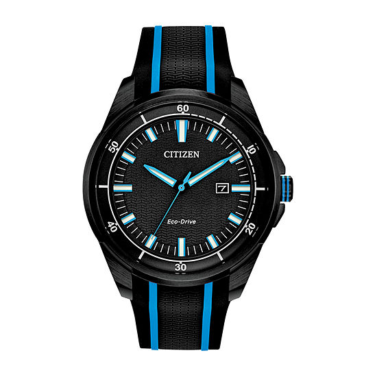 Drive from Citizen Mens Black Strap Watch-Aw1605-09e