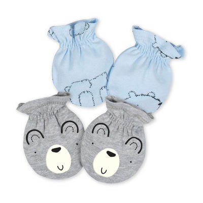 Gerber Baby Boys 2-pc. Baby Mittens