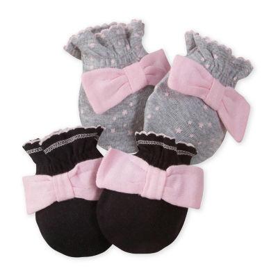 Gerber Girls Baby Mittens
