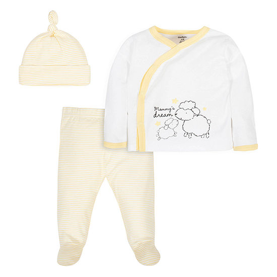 Gerber Baby Unisex 3-pc. Baby Clothing Set