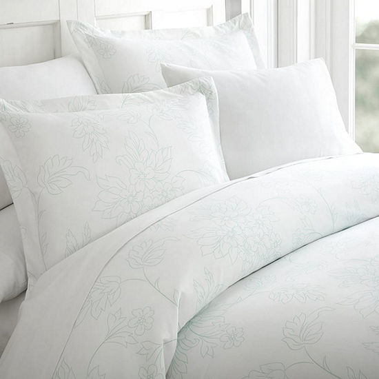 Ienjoy Home Casual Comfort™ Premium Ultra Soft Vine Pattern Duvet Cover Set