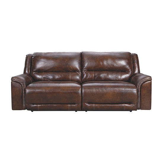 Signature Design by Ashley Catanzaro Pad-Arm Power Recline Loveseat