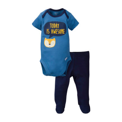 Gerber Baby Boys 2-pc. Animal Pant Set