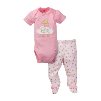 Gerber Baby Girls 2-pc. Bodysuit Set