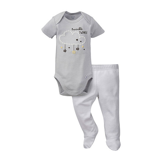 Gerber Unisex 2-pc. Bodysuit Set-Baby