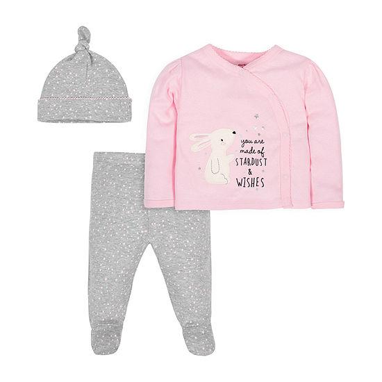 Gerber Girls 3-pc. Baby Clothing Set-Baby
