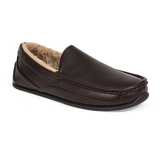 Deer Stags® Vegan Leather Spun Slipper