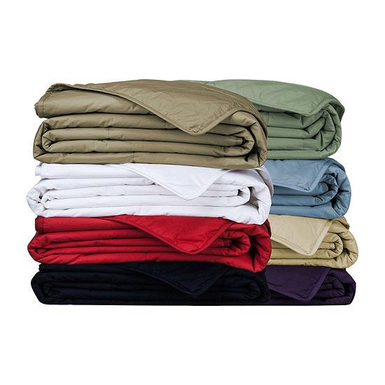 Cottonloft® Natural Cotton-Filled Blanket