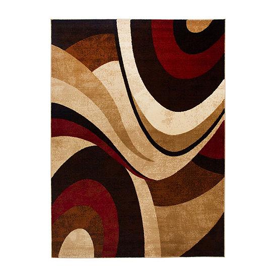 Home Dynamix Tribeca Slade Abstract Rectangular Rug